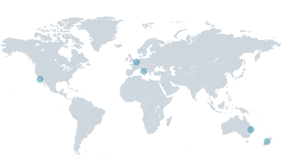 Metagenicsist eine weltweit aktive Gruppe mit eigenen Niederlassungen in den Vereinigten Staaten, Australien, Neuseeland, im Benelux, in Italien
